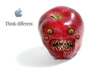Bad apple image