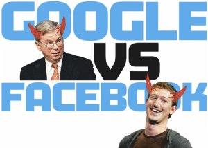 Google vs Facebook image